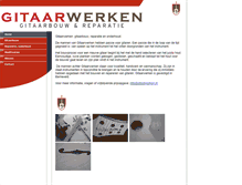 Tablet Preview of gitaarwerken.nl